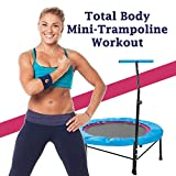 Total Body Mini-Trampoline Workout - The Ultimate Trampoline Jumping Fitness Workout (Screw Legs and...