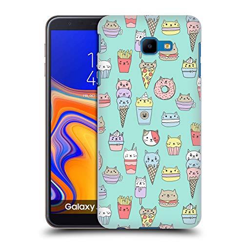 Officiële Andrea Lauren Design Kattenvoer Voedsel Patroon Hard Back Case Compatibel voor Samsung Galaxy J4 Core