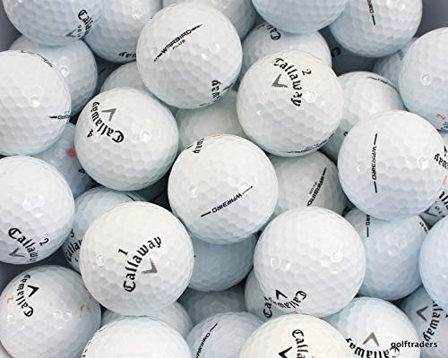 PG Callaway Golf Ball Mix - Great Callaway Styles! 50 Mint Quality Used Callaway Golf Balls (AAAAA Premium Reload Callaway Golfball Mix), White