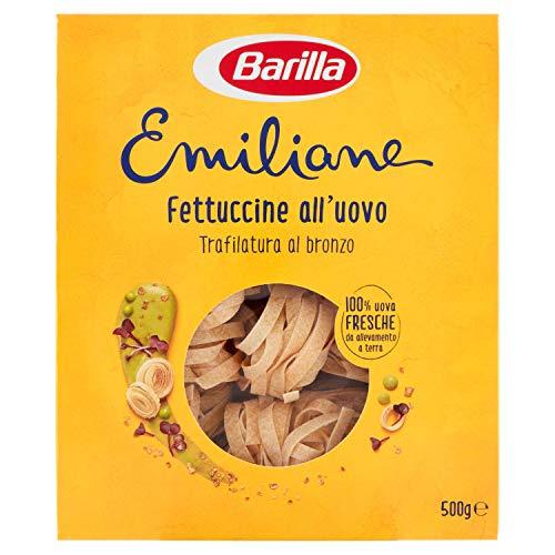 Barilla Pasta all'Uovo, le Emiliane Fettuccine, 500g