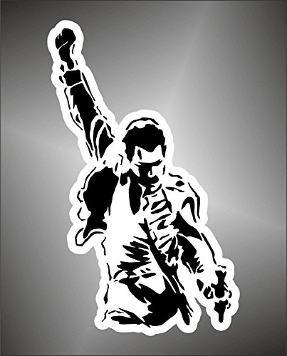 Autocollant Queen Freddie Mercury hip hop rap jazz hard rock pop funk sticker