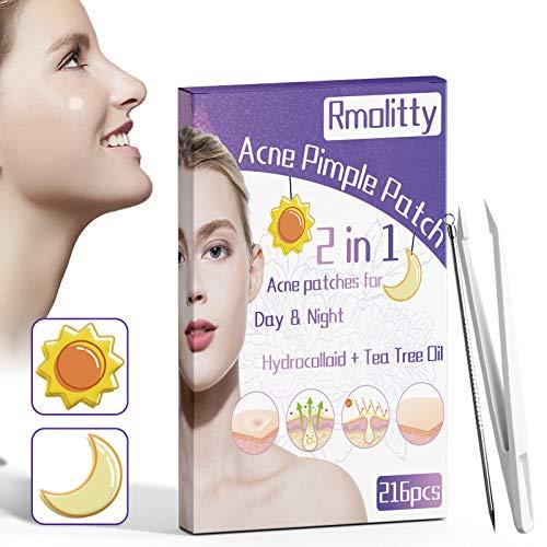 Patch per l'acne,216PCS Idrocolloidi Assorbenti...
