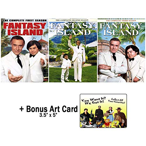Fantasy Island: Original TV Series Complete Seasons 1-3 DVD Collection + Bonus Art Card