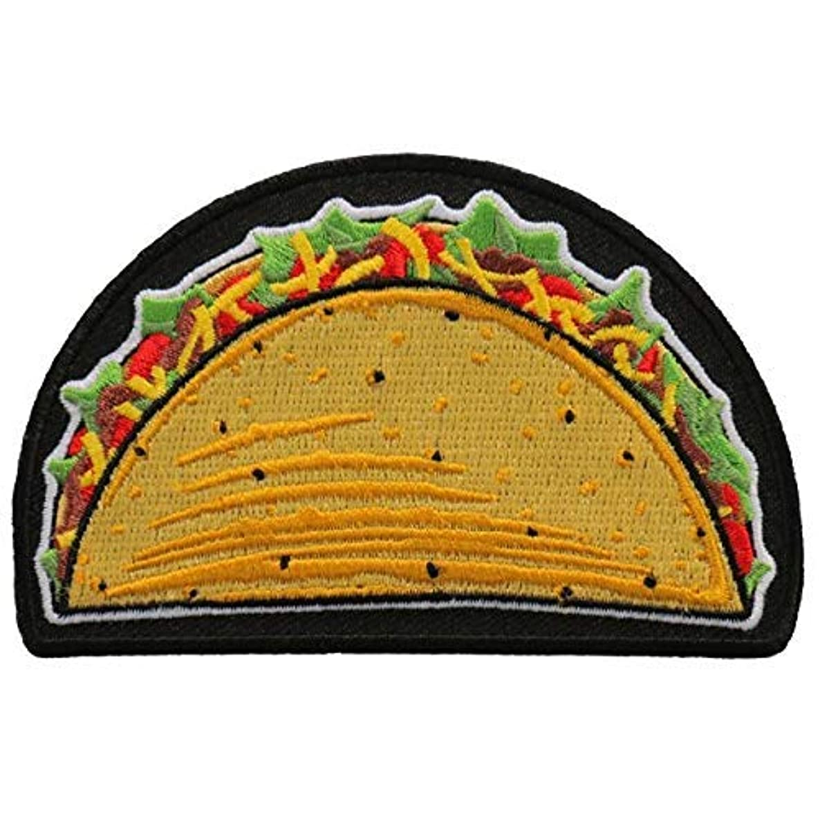 Mexican Taco Iron On Patch - Officially Licensed Original Artwork, 4