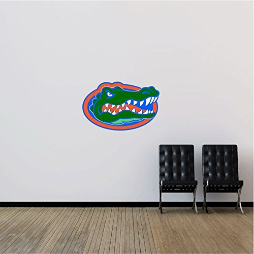 Florida Gators NCAA USA Logo Head College Sport Art Wall Decor Sticker 25' x 16'