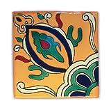 Azulejos Mexicanos Artesanales de Talavera de 10.5cm - Pack de 25