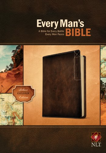 Every Man's Bible NLT, Deluxe Explorer Edition