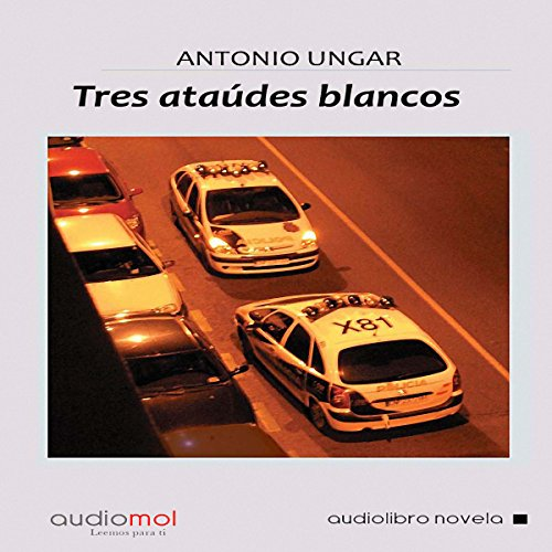 Tres ataúdes blancos [Three White Coffins] audiobook cover art