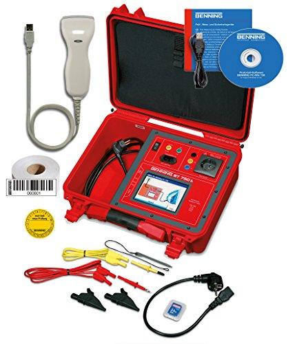 Benning ST 750 A Set Gerätetester zur Prüfung elektrischer und medizinisch elektrischer Geräte, 050321