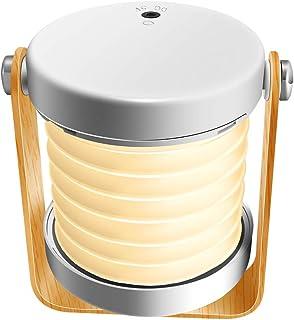Ledライト Pekyok JD01 ブックライト 手提げランプ ランタン ナイトライト 懐中電灯 暖色 2WAY 折り畳み タッチ式 携帯便利 最大43時間連続稼働 和風スタンド 間接照明 タッチ式 三段階調光 360度回転 折り畳み式 携帯便利 USB充電式 防災停電対策 ライト「ホワイト」