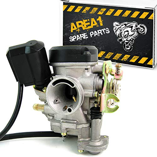 Carburador de repuesto 16 mm Peugeot T Django 50/Tweet 50, Kisbee 50 (50 ccm/4T)