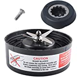 Wadoy N17-1001 Blade with Drive Socket Kit Compatible with Nutribull-et RX Blender Replacement Parts Fit 1700 Watt Ma-gic Bu-llet