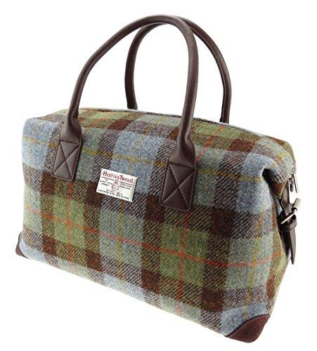 Glen Appin Authentisch Harris Tweed Reisetasche Übernachten Reisetasche - Farbe 15, 33cm H x 52cm W x 30cm D