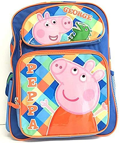 Peppa Pig George 16' Large Backpack