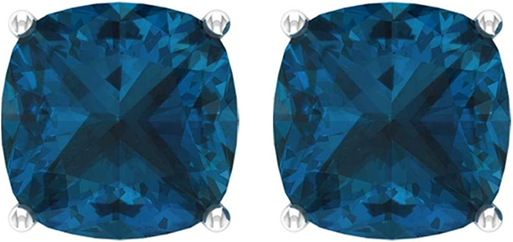 Rosec Jewels - Gifts discount Solitaire Earrings with Topaz 6 Blue CT G London