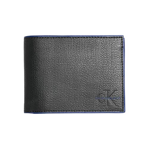 Calvin Klein Edge Pop Billfold with Coin Black