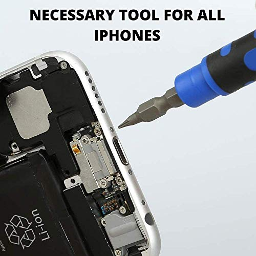 Tripoint Y000 Screwdriver Triwing 0.6 mm Y-Tip 0.8 Pentalobe Screwdriver set 4 in 1 For iPhone 7 8 Plus X XS Max and up (Tripoint Y000 Screwdriver)