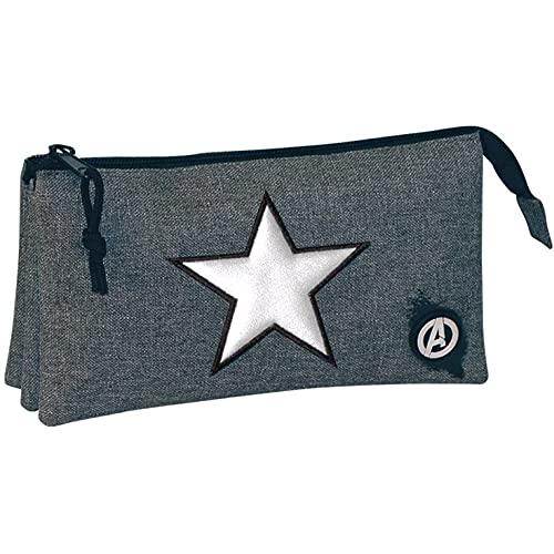 PERONA BAGS Estuche portatodo triple de Avengers 'Legendary'
