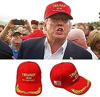 もみじ MAGAトランプキャップ、ドナルドトランプキャップ、アメリカの素晴らしいトランプ2020帽子を保つ - トランプ大統領の帽子が補う (A)
