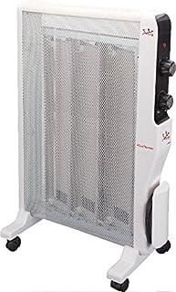 JATA RD221 Interior Color blanco 1500W Radiador - Calefactor (Radiador, Interior, Piso, Color blanco, Giratorio, 1500 W)