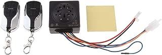Wireless Vibration Alarm, Anti-Theft Burglar Alarm Water Resustance Univertsal For Electrombile
