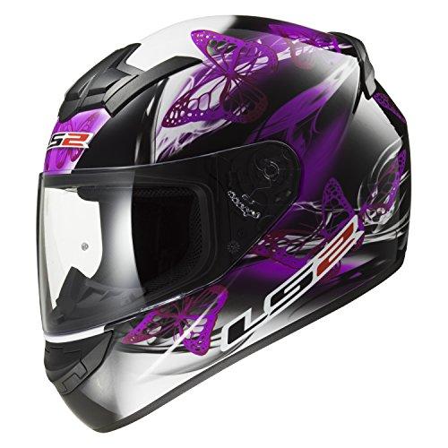 Original LS2 FF352 Full Face Motorcycle Helmet Racing Man