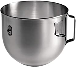 KitchenAid K5ASBP 5Qt Bowl-Lift Stainless Steel Bowl Silver