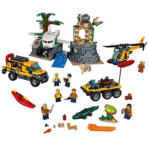 Lego City Dschungel-Forschungsstation 60161 (813 Teile)