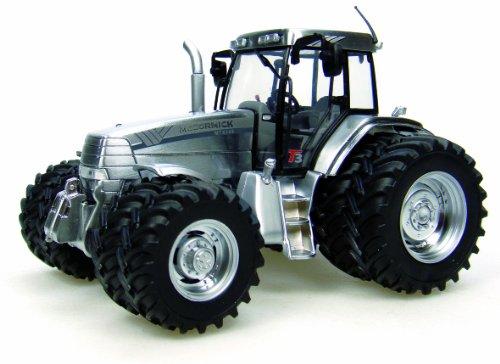 Universal Hobbies - UH2894 - Modélisme - Tracteur Mc Cormick MTX 8 - Roues Version Chromées
