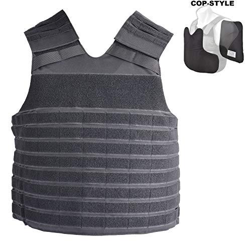 COP® Taktische Molle - Weste COP-Style verwendbar mit oder ohne Ballistik (L/R)