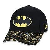 New Era - DC Comics Batman Kids 9Forty Snapback Cap - Schwarz Gre Youth (8-14 Jahre), Farbe Schwarz
