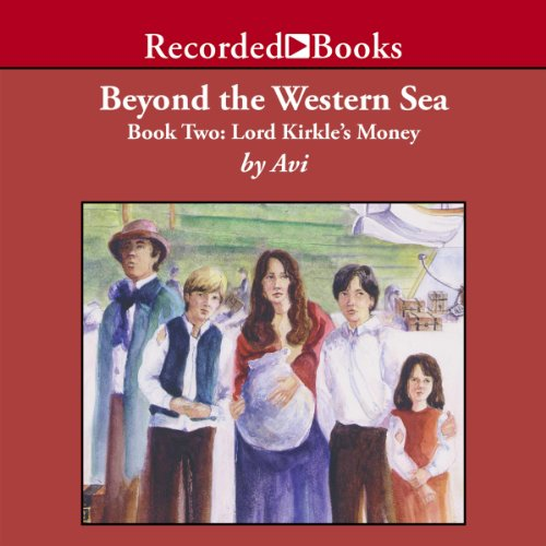 Beyond the Western Sea audiobook cover art