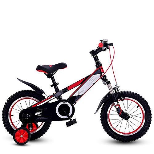 """YUMEIGE Kinderfahrräder Sport Jungen- und Mädchenkinder Kinderfahrrad Kinderfahrrad 3 Farben 12\""""14\"""" 16\""""18\"""" 20\""""mit abnehmbarem Stützrad , Einstellbare Sitzhöhe (Color : Red, Size : 20in)"""