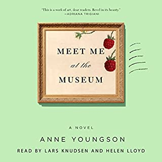 Meet Me at the Museum     A Novel              By:                                                                                                                                 Anne Youngson                               Narrated by:                                                                                                                                 Helen Lloyd,                                                                                        Lars Knudsen                      Length: 6 hrs and 29 mins     148 ratings     Overall 4.5