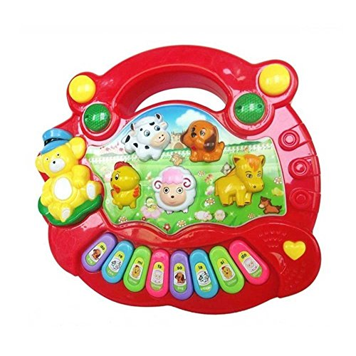 Piano para niños animales