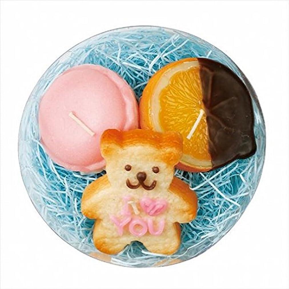 特徴づけるコンテンポラリー排他的スイーツキャンドル(sweets candle) プチスイーツキャンドルセット 「 バニラベア 」
