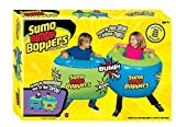 Big Time Toys Sumo Bumper Boppers Belly Bumper Toy, Set of 2 with 2 Repair Patches, Kids get Active and Silly, Air inflated Fun, More Fun Than a Pillow Fight, Great for Agility-Balance-Coordination