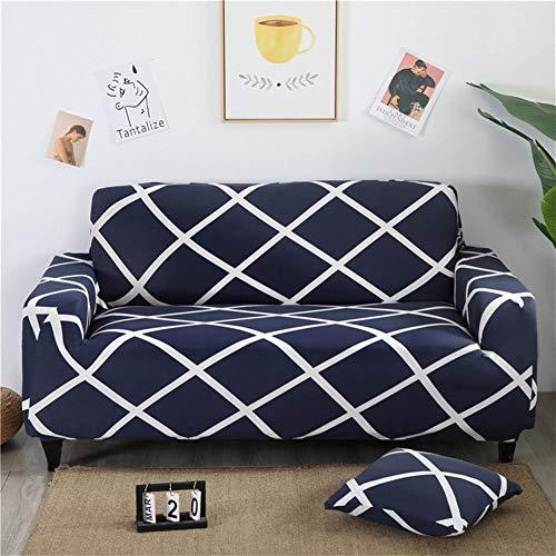 ASPZQ Sólido de Color Antideslizante Combinación elástico con Todo Incluido, Universal sofá de Cuero Cubierta, Cubierta de Polvo Tela Europea,A,190 to 230cm