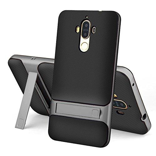 hyujia Compatible Huawei Mate 9 Funda(2017) Ultra Fina TPU Suave Silicona...