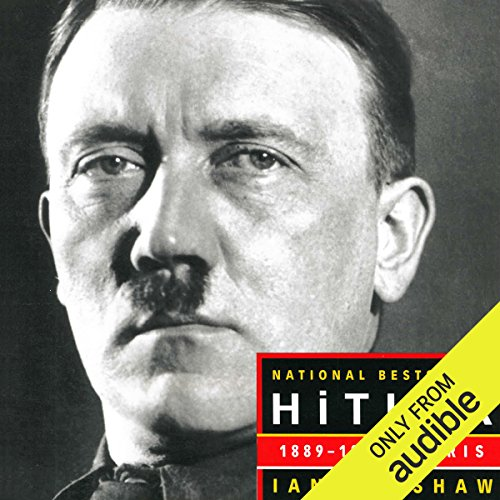 Hitler 1889-1936: Hubris audiobook cover art