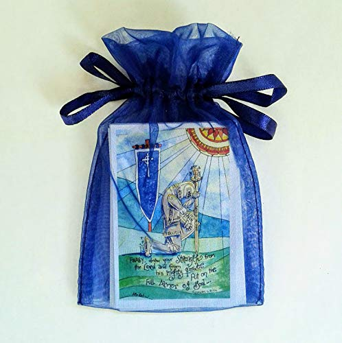 Catholic Prayer Card Gift Set in Cards Limited price sale Organza Ranking TOP15 Ba Holy