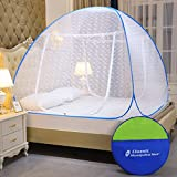 Best Mosquito Nets - Classic Mosquito Net, Polyester, Embroidery, King Size, Strong Review