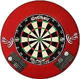 Steeldart Profi Set-Scheibe Winmau Blade 5, 2 Satz Pfeile und Roleo Catchring