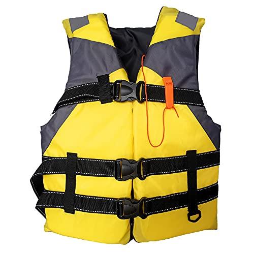 Reooly Outdoor Verstellbare Rettungsweste, Auftriebsweste Tauchausbildung, Licht Boje Schwimmweste, Auftriebshilfen Weste für Kajak-Boarding-Angeln für Kinder und Erwachsene