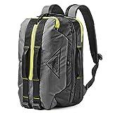 High Sierra Dells Canyon TSA Friendly Backpack Mercury/Black/Glow