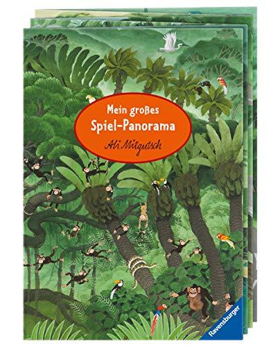 'Mein großes Spiel-Panorama' Mitmachen-Buch