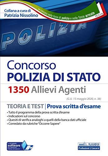 Concorso Polizia di Stato 1350 Allievi Agenti: Teoria e Test | Prova scritta d'esame