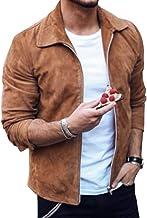 promo code e6ce5 8bb95 Amazon.it: Giacca renna pelle scamosciata anni 70 vintage