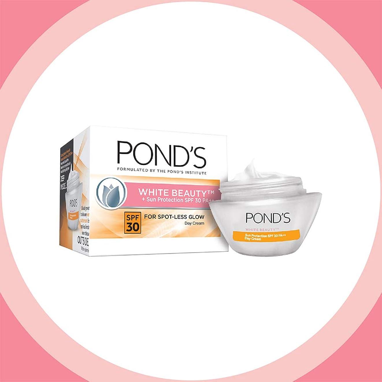 解明する不快な反毒POND'S White Beauty Sun Protection SPF 30 Day Cream, 35 gms (並行インポート) India