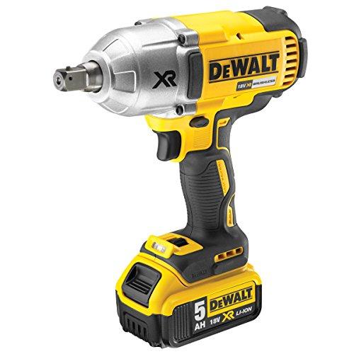 DeWalt DCF899P2-GB Autre Boulonneuse à chocs 950Nm + 2 batteries 18V 5Ah Li-ion + coffret, Norme